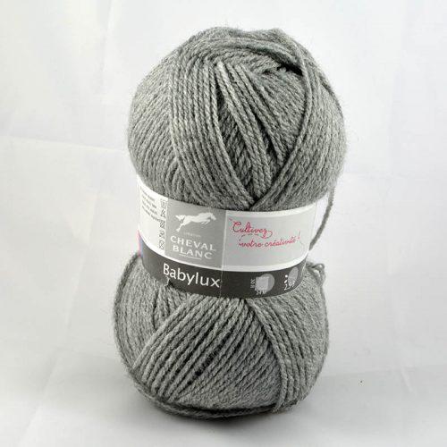 Baby Lux 58 Flanelová sivá