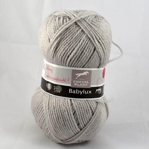 Baby Lux 71 Perlová sivá