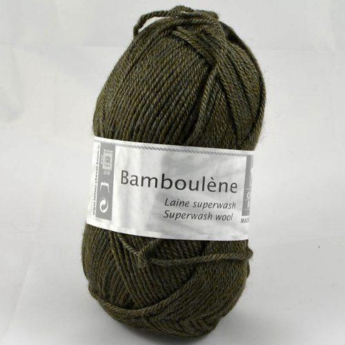 Bamboulene 36 tmavá khaki