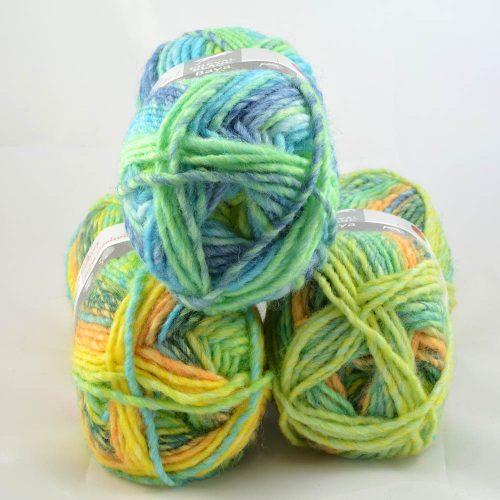 Baya 292 tyrkys/zelená/žlutá
