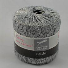 Bride 128 strieborná lurex