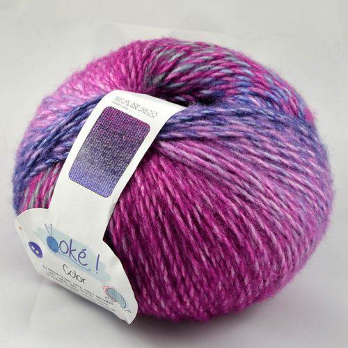 Color-33 fialová/ružová