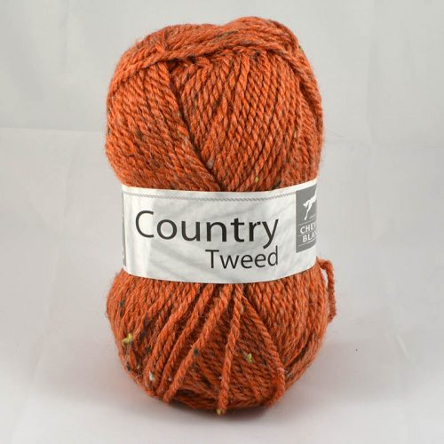 Country tweed 142 hrdzavá