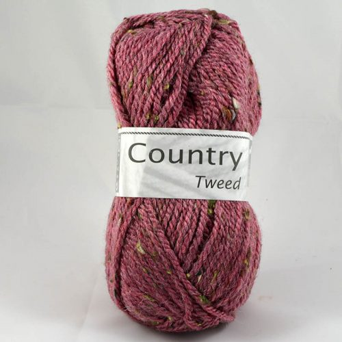 Country tweed 252 staroružová