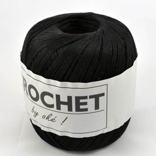 Crochet-12 černá