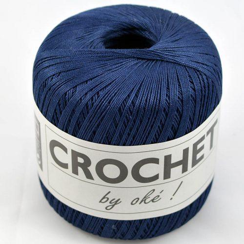 Crochet-by-OKE-94 tmavě modrá