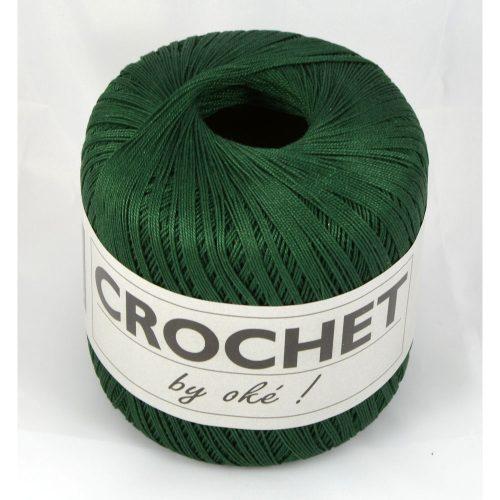 Crochet-211 tmavě zelený