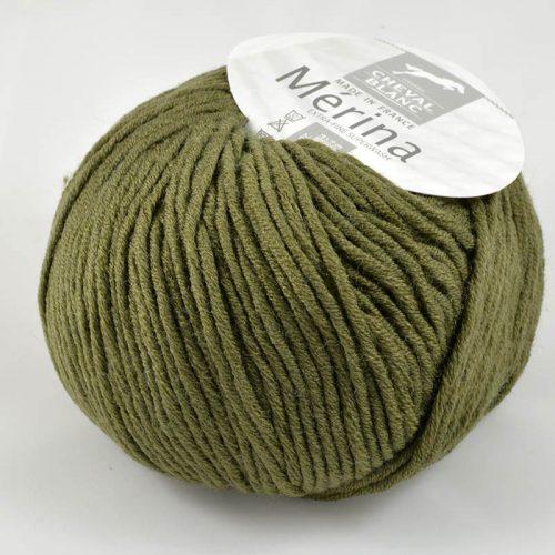 Merina 57 Khaki zelená