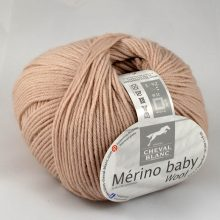 Merino baby 138 Biela káva