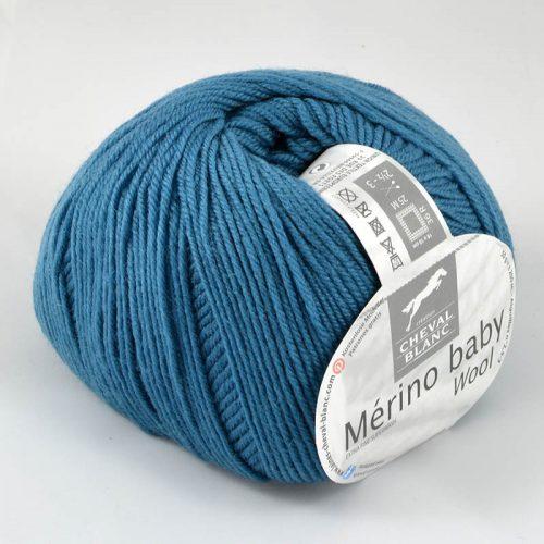 Merino baby 299 Kobaltová modrá