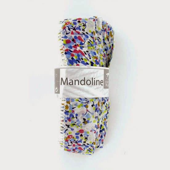 Mandoline 314 Biela, farebný vzor