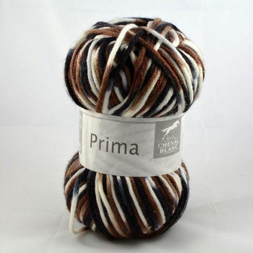 Prima 406 hnedá/biela/čierna