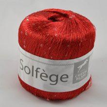 Solfege 4 červená + priesvitné flitre