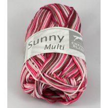 Sunny multi 456 biela/ružová/lesné ovocie