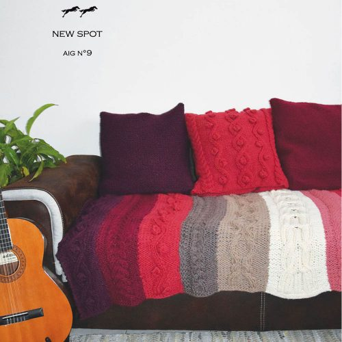 CHB 33/03 Pletená deka – návod + příze