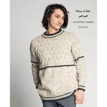 CHB 35/04 Pánský pulovr – návod + příze
