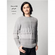 CHB 35/05 Pánský pulovr – návod + příze