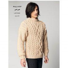 CHB 35/07 Pánsky pulovr – návod+příze