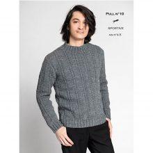 CHB 35/10 Pánský pulovr – návod+příze