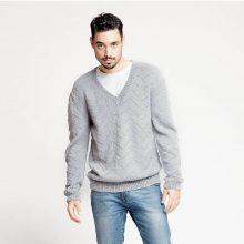 CHB 29/01 Pánský pulovr - návod + příze
