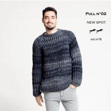 CHB 29/02 Pánský pulovr - návod + příze