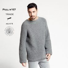 CHB 29/07 Pánský pulovr - návod + příze